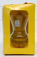 SCHOTT ZWEISEL Vintage MID-CENTURY MODERN Clear Art Glass MINIATURE VASE in BOX