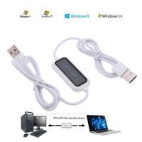 P79C 160cm Datenkabel PC auf PC USB 2.0 auf USB 2.0 Kopie Kabel Multimedia Sync