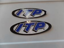 2 NEW ATV MX STICKER DECAL ITP HONDA TRX 250R 450R LTR 450 YFZ Z400