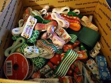 Christmas And Winter Grosgrain Ribbon Lot 110 total
