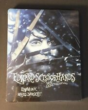 Edward Scissorhands [ 25th Anniversary Edition STEELBOOK ] (Blu-ray Disc) NEW
