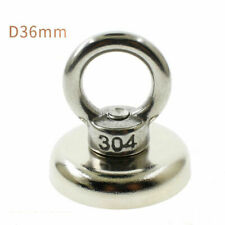 Round Disc Ring Magnets Fishing Magnet Neodymium Super Strong Hunt -afad822