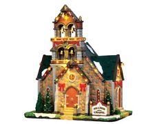 Lemax Kirche Hügel - Hillside Bell Kapelle Code 45729 Dorf Krippe