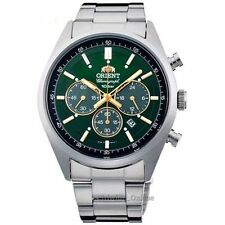 ORIENT Men's watch NEO 70's SOLAR PANDA brilliant green WV0031TX