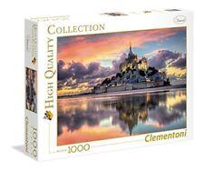 Puzzle 1000 Parts - Mont Saint-michel de Clementoni