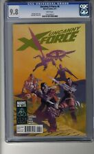 Uncanny X-Force (2010) #  6 Cover A - Ribic CGC 9.8 White Pages - First Father