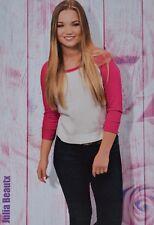 JULIA BEAUTX - Star Card - Foto Karte Mini Poster Clippings Fan Sammlung NEU