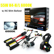 Hid Kit 12V 55W Slim Ballast Car Replacement for H4 Headlight Xenon Lamp Bulb