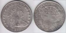 REDUCED AGAIN!! SCARCE 1798 BUST DOLLAR VF-XF DETAILS