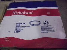 "Nicholson 250 Ft Band Saw Blade Coil Of 1-1/2"" x 6 TPI x .050  Bi-Metal"