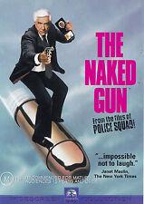 THE NAKED GUN Leslie Nielsen DVD R4  PAL