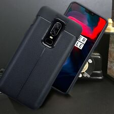 Low Profile Carbon Leather Black Cover  Case ONE PLUS SIX