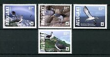 Aitutaki Cook Islands 2016 MNH Chatham Albatross WWF 4v Set Birds Stamps