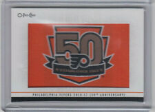 17/18 OPC Philadelphia Flyers 50th Anniversary Patch card #308 - SP