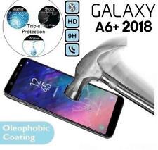 Protector de Pantalla de Vidrio Templado A6+ 18 (SM-A605) para Samsung Galaxy A6 Plus 2018