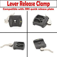 1xFITTEST Lever Release Clamp 55mm forReally Right Stuff RRS Quick Release Plate