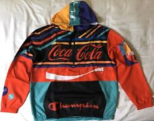 Coca-Cola x Champion Packable Jacket Size Medium