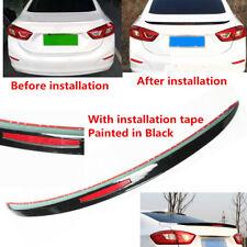 Tail Wing Lip Reflector Rear Spoiler Black Fit For Chevrolet Cruze Sedan 17 19 Fits Cruze