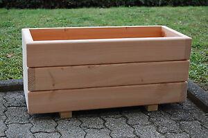 Holz Blumenkasten, Pflanzkasten XL Douglasie nach Ihren Wünschen