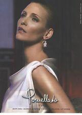 PUBLICITE  ADVERTISING 2008  POMELLATO bijoux  boucles d'oreilles ref  EVA