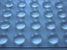 Schutzpuffer Linsenform 11,1 mm x 5,0 mm, transparent  Puffer,Türen     561 111