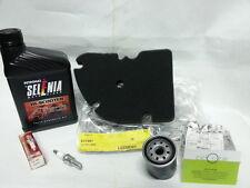 Kit tagliando Piaggio MP3/X-Evo 125-filtro aria+filtro olio+olio+candela