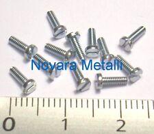 100 microviti TC taglio cacciavite M2,5x8 inox A2 viti