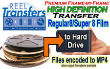 HD Transfer 8mm/Super 8 film to Blu-Ray Disc (playable on PS3 or Sony Blu-Ray)