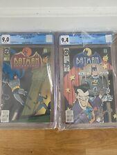 1992-1993 DC Comics Batman Adventures Comic Book Lot #2,3,4,5,7 ALL CGC Graded
