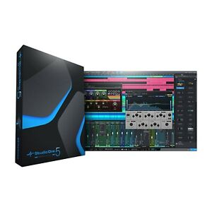 PRESONUS STUDIO ONE 5 Artist. Genuine Licence DAW Unlimited Trax PC & MAC cubase