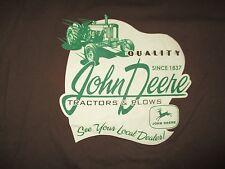 Vintage JOHN DEERE (Quality Since 1837 Tractors & Plows (LG) T-Shirt