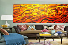 Modern abstract desert inspired painting By Jane COA  large Canvas