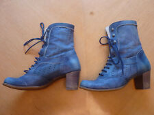 DKODE Vylma Lace-Up Mid-Calf Boots - US7.5 - EU38 - UK5