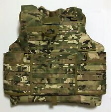 New Molle Tactical Heavy Plate Carrier Improved Outer Vest Size Large MC Airsoft