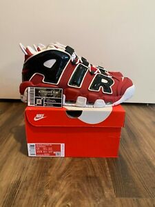 Nike Air More Uptempo Bulls Hoops Pack 921948-600 - Size 12 (FAST SHIPPING)