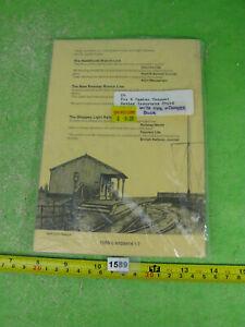 vintage brass kit building tramway ironworks model railway OO gauge 1589