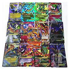 60pcs Pokemon TCG MEGA Poket Monster Cards EX Charizard Venusaur Blastoise Cards