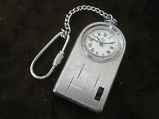 Rare Russian Vintage Men's LUCH Alarm-clock with key holder Made in USSR