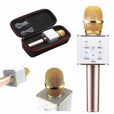Q7 Inalámbrico Bluetooth KTV Mini Micrófono altavoz para teléfono Microphone