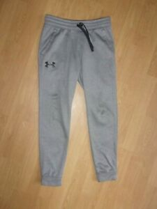 Under Armour Coldgear Fitted boys Grey jogging bottoms size M boys (10-12 years)