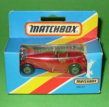 Matchbox Superfast / 47 Jaguar SS100 / Boxed