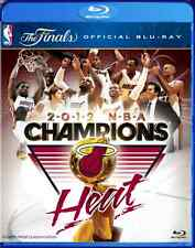 NBA Miami Heat 2012 NBA Champions The Finals Official  - Blu-ray Disc Region B