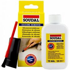 SILICONE REMOVER SOUDAL 100ML REMOVE SILICONES  MS-POLYMERS  ACRYLIC SEALENS