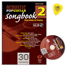 Acoustic Pop Guitar - Songbook 2 - Edition DUX - D874 - 9783868491951