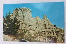 Vintage Postcard Indian Summer Badlands South Dakota Note Dated July 15th 1969