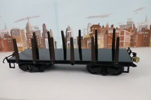 T-Reproductions Buddy L Railroad No.2006 Flatcar With Wood Stakes