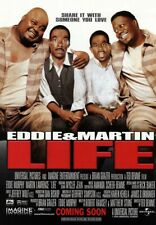 LIFE 1999 ORIGINAL MOVIE POSTER Eddy Murphy, Martin Lawrence