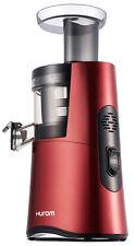 Hurom H26 Alpha Cold Press Juicer Wine Red