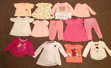 Reduced Girls 13 Pc Mixed Lot Size 12 Months Summer Wonderkids, Carter's, Etc