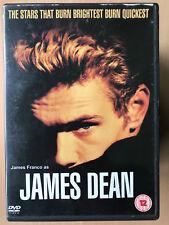 James Franco as James Dean 2001 TNT TV Movie Biopic Drama UK DVD